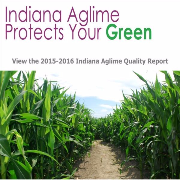 Indiana Aglime Quaility Report for the 2015-2016 season