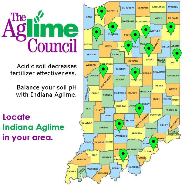 Locate Indiana Aglime in your area