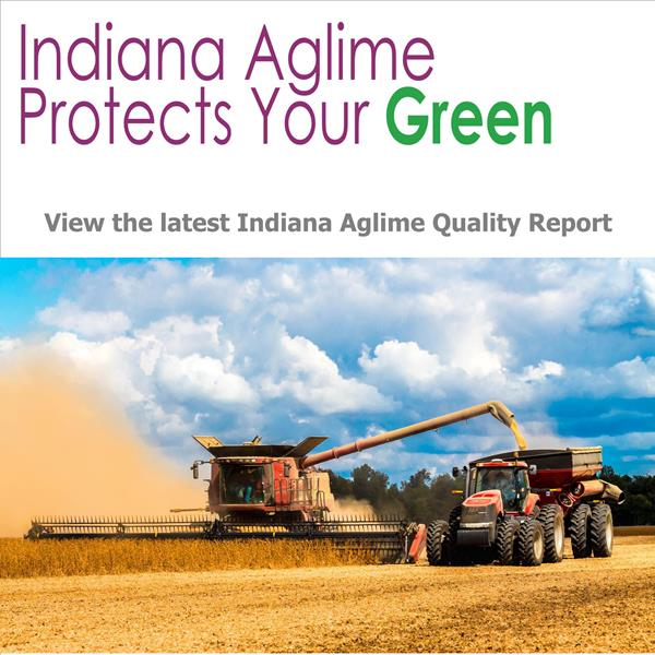 View the latest Indiana Aglime Quality Report.